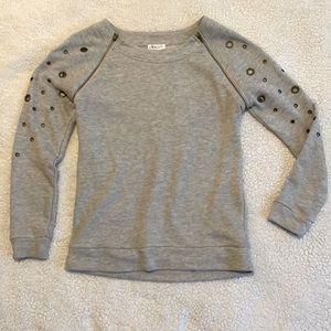Venus Size S Metal Detailed Swearshirt